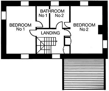 aspen-house-glengarriff-holiday home-floor-plan upstairs