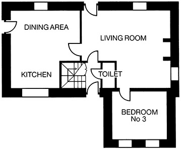 aspen-house-glengarriff-holiday home-floor-plan