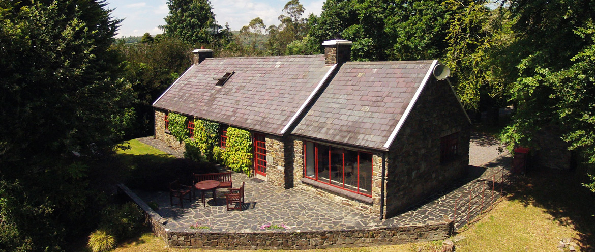 maple-house-glengarriff-co-cork-holiday-home-arial-view